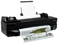 HP DesignJet T120 ePrinter - groot formaat printer - kleur - inktjet (CQ891A#B19)