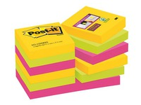Block 90 gefärbte Rio Super Sticky Post-it Zettel 46,7 x 46,7 mm