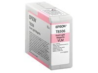 Epson T8506 - hoge capaciteit - levendig licht magenta - origineel - inktcartridge (C13T850600)