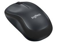 Logitech M220 Silent - souris - 2.4 GHz - Charbon (910-004878)