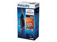 Philips NOSETRIMMER Series 5000 NT5180 - tondeuse - zwart/donkerblauw