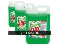 Pack 2 flessen Ajax Lentebloemen + 1 gratis