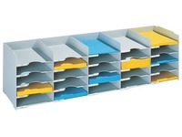 Storage box, 112 cm, 25 compartments