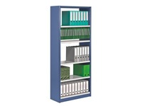 Versatile shelving, basic element, W 90 cm, without back panel