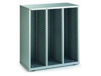 Klasseermodule Clen 3 kolommen aluminium