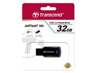 Transcend JetFlash 360 - USB-flashstation - 32 GB