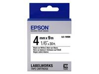 Epson LabelWorks LK-1WBN - etikettape - 1 rol(len) (C53S651001)
