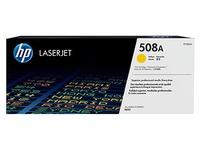 Toner HP 508A hoge capaciteit geel voor laserprinter