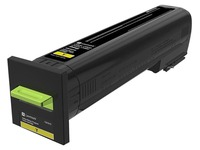 72K20Y0 LEXMARK CS820 TONER YELLOW
