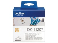 Brother DK-11207 - CD/DVD-etiketten