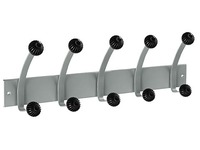 Hakea Rack with 5 Double Metal Knobs