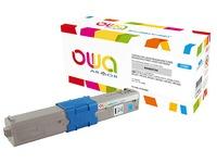 Toner Armor Owa compatible Oki 44469706 cyan for laser printer
