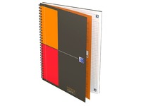 Oxford International Notebook spiral binding B5 17,6 x 25 cm - small squares - 160 pages