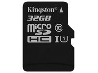 Kingston Canvas Select - flash memory card - 32 GB - microSDHC UHS-I