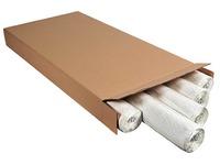 Blok van 40 witte vellen standaard geruit Exacompta 65 x 100 cm