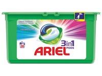 Ariel 3 in 1 wasmiddel pods Color, doos van 36 stuks