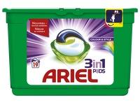 Ariel liquitabs kleur - doos van 19 tabs
