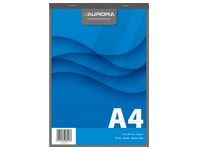 Notepad Aurora A4 210 x 297 mm lined 100 sheets