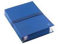 Jalema bulkmap met klittenbandsluiting blauw
