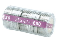 Kit 100 cases for coins of 2 euro