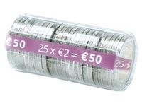 Kit 100 hoesjes voor muntstukken van 2 euro
