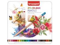 Crayons de couleur Bruynzeel Expression Colour Boîte de 24 pièces