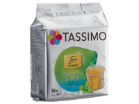 Green tea mint Tassimo Twinings - pack of 16 capsules