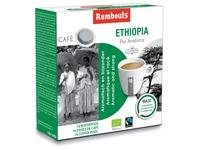 Rombouts dosettes de café pour espresso, Mokka Ethiopia, paquet de 16 pièces