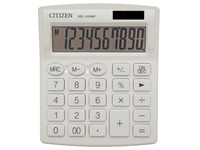 Citizen calculatrice de bureau SDC-810, blanc