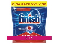 Pack 2 + 1 tablettes Finish Powerball lave-vaisselle - Pack de 100 tablettes