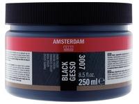 Amsterdam gesso noir, bouteille de 250 ml